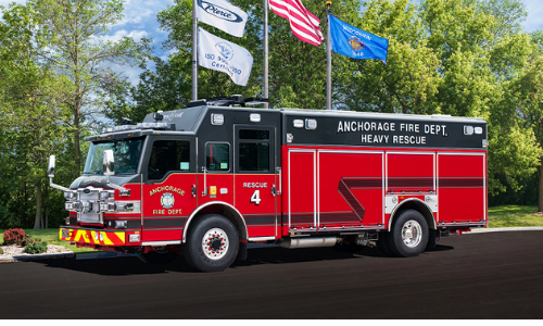 AFD Prepares New Heavy Rescue 4 Vehicle for Service