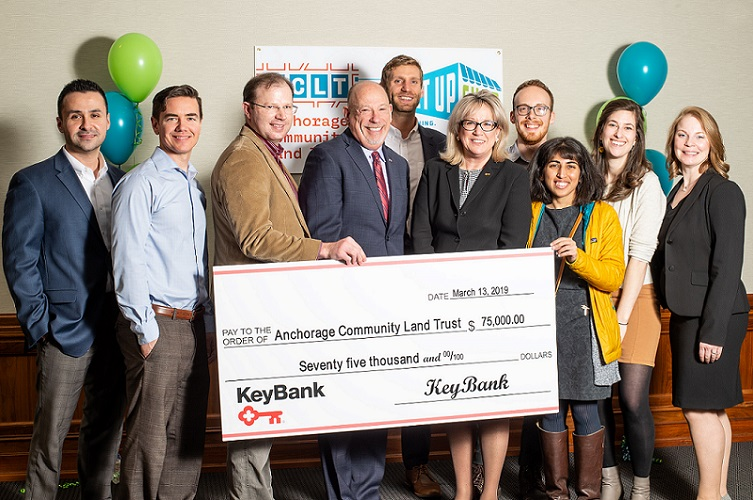 Anchorage Community Land Trust Receives $75,000 Grant from KeyBank