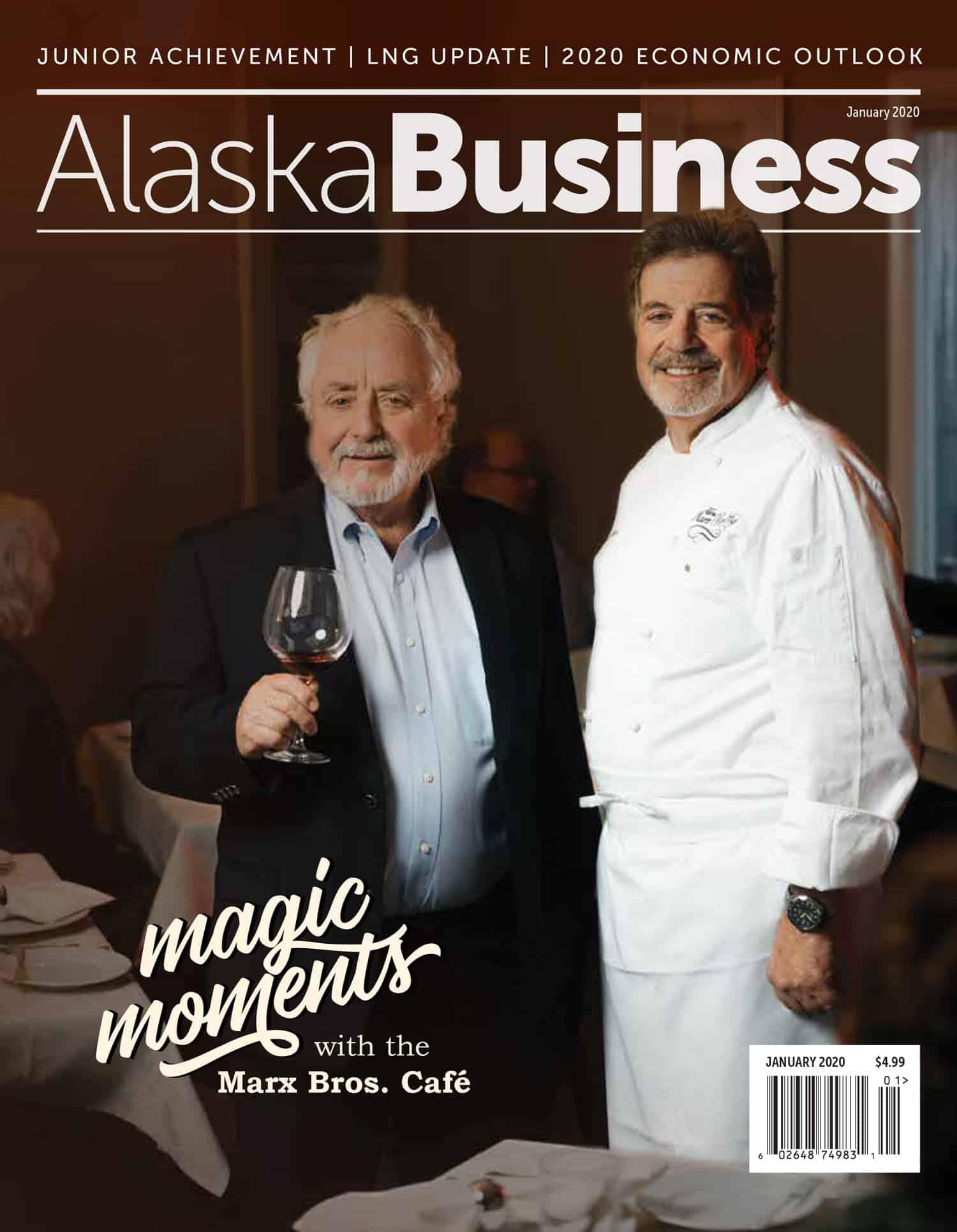 Alaska Business January 2020 cover