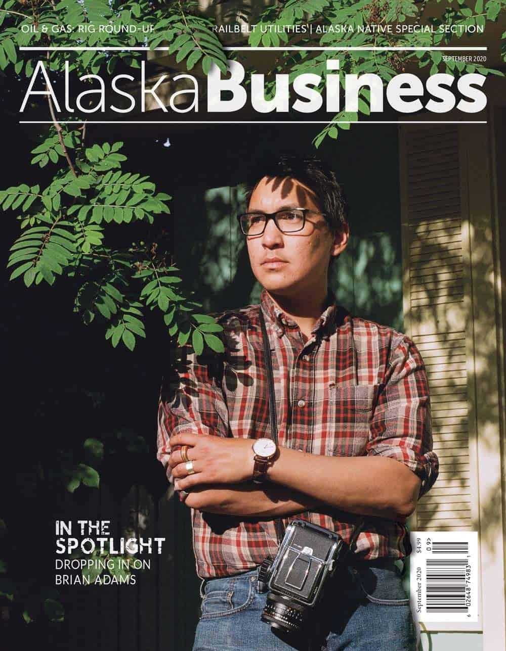 Alaska Business Magazine September 2020 Cover