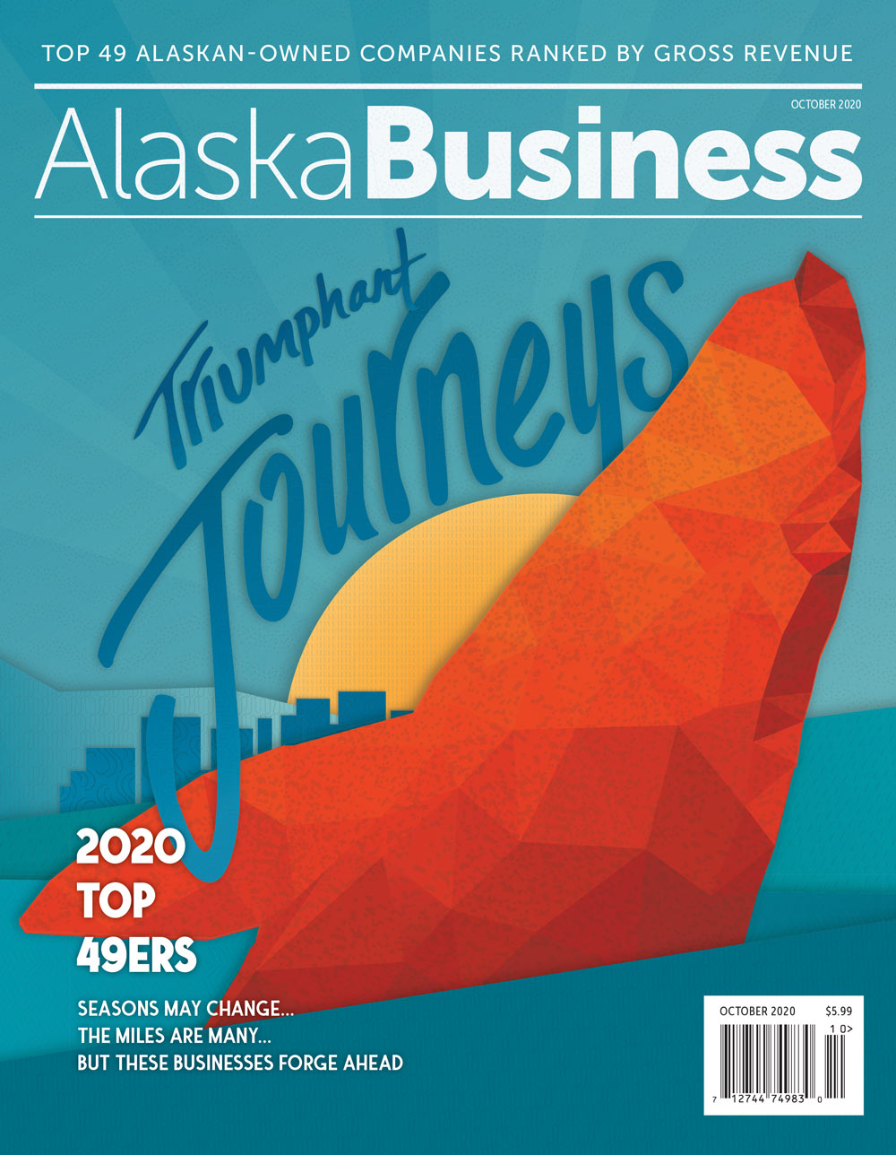 Alaska Business Magazine October 2020 Cover