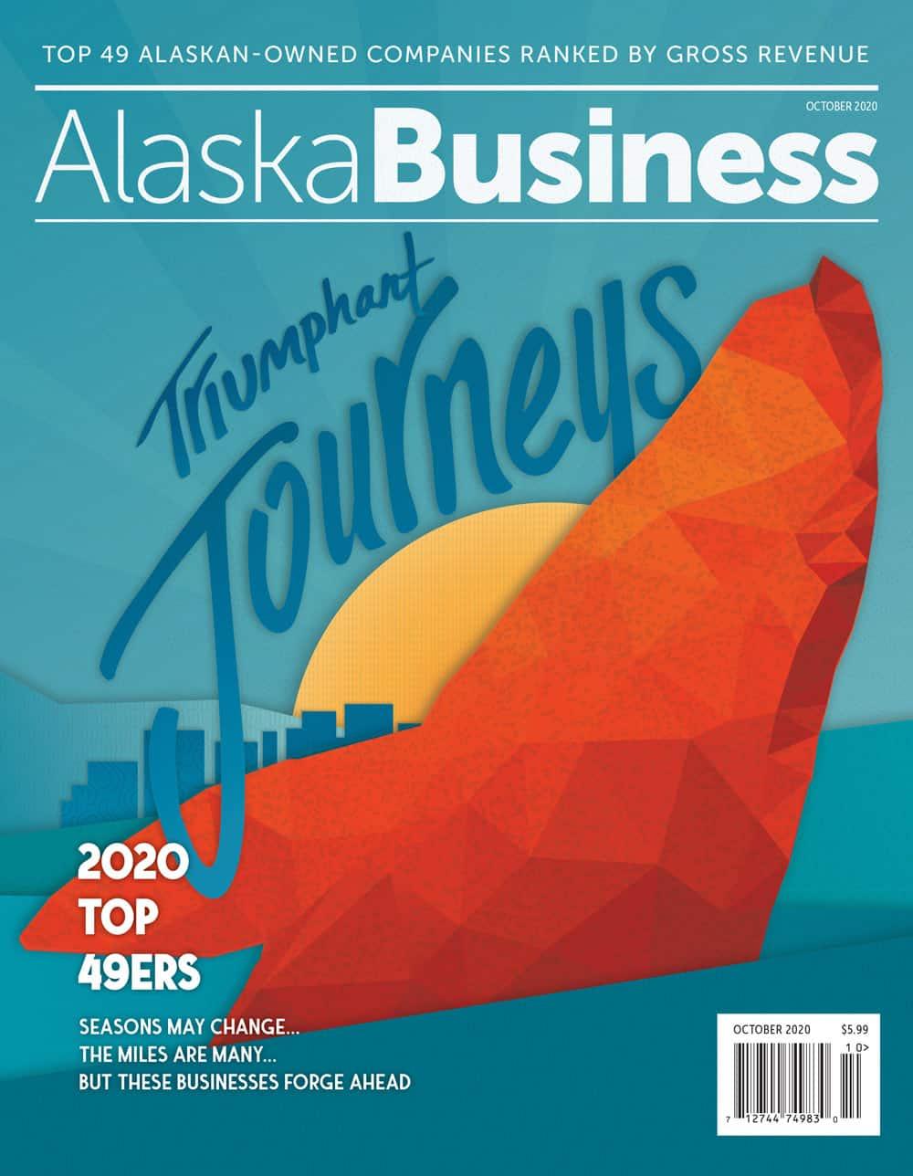 Alaska Business Magazine October 2020 Cover