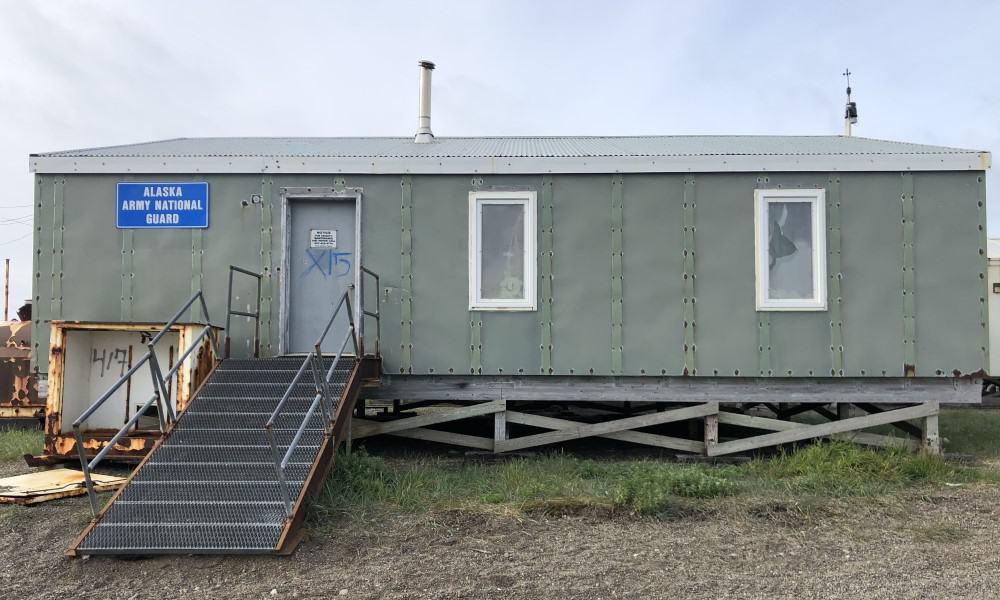 Alaska National Guard Donates Historical Armory to Community of Gambell
